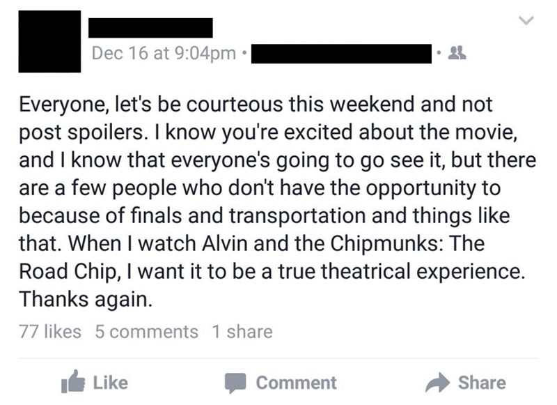 alvin and the chipmunks spoilers