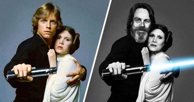 star wars ayer y hoy