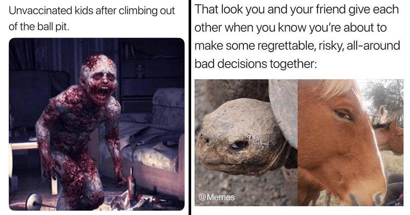 Funny memes, dank memes, random memes, friday memes.