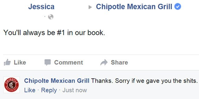 facebook troll chipotle e coli