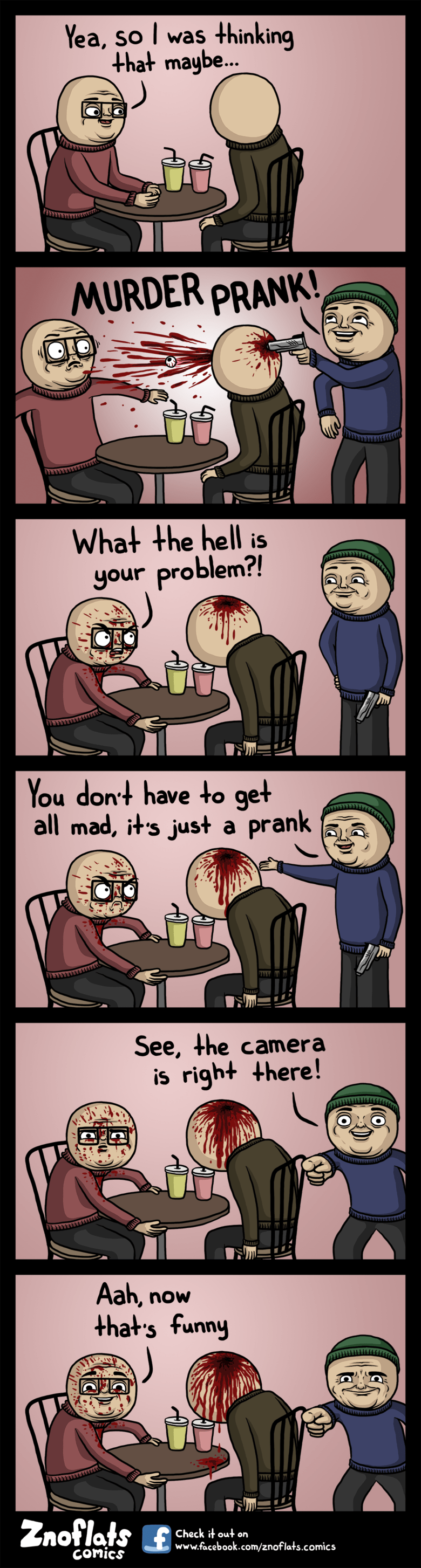 pranks,web comics