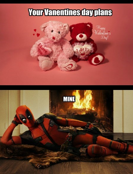 deadpool Valentines day - 8596283392