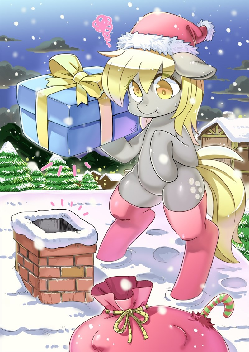 christmas derpy hooves - 8596296960