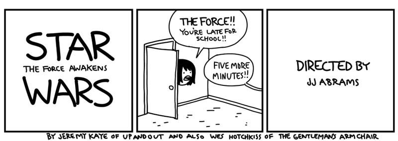 web comics spoilers star wars Spoilers! (Not a Spoiler)