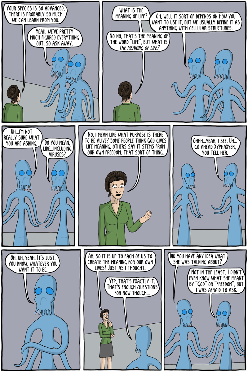 web comics aliens Our Science Classes Didn't Really Cover That