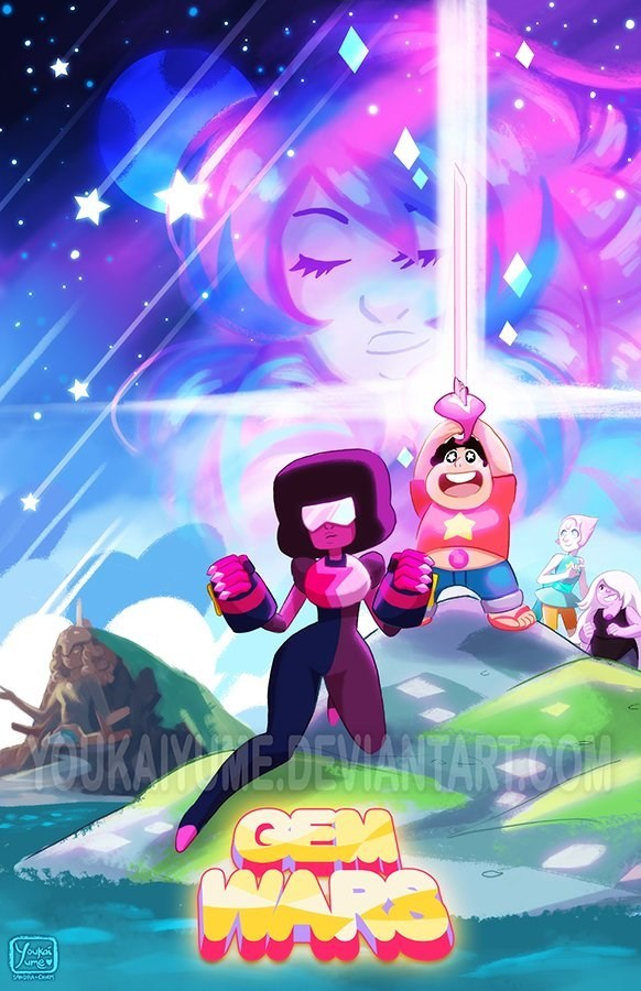 star wars Fan Art steven universe - 8596327424
