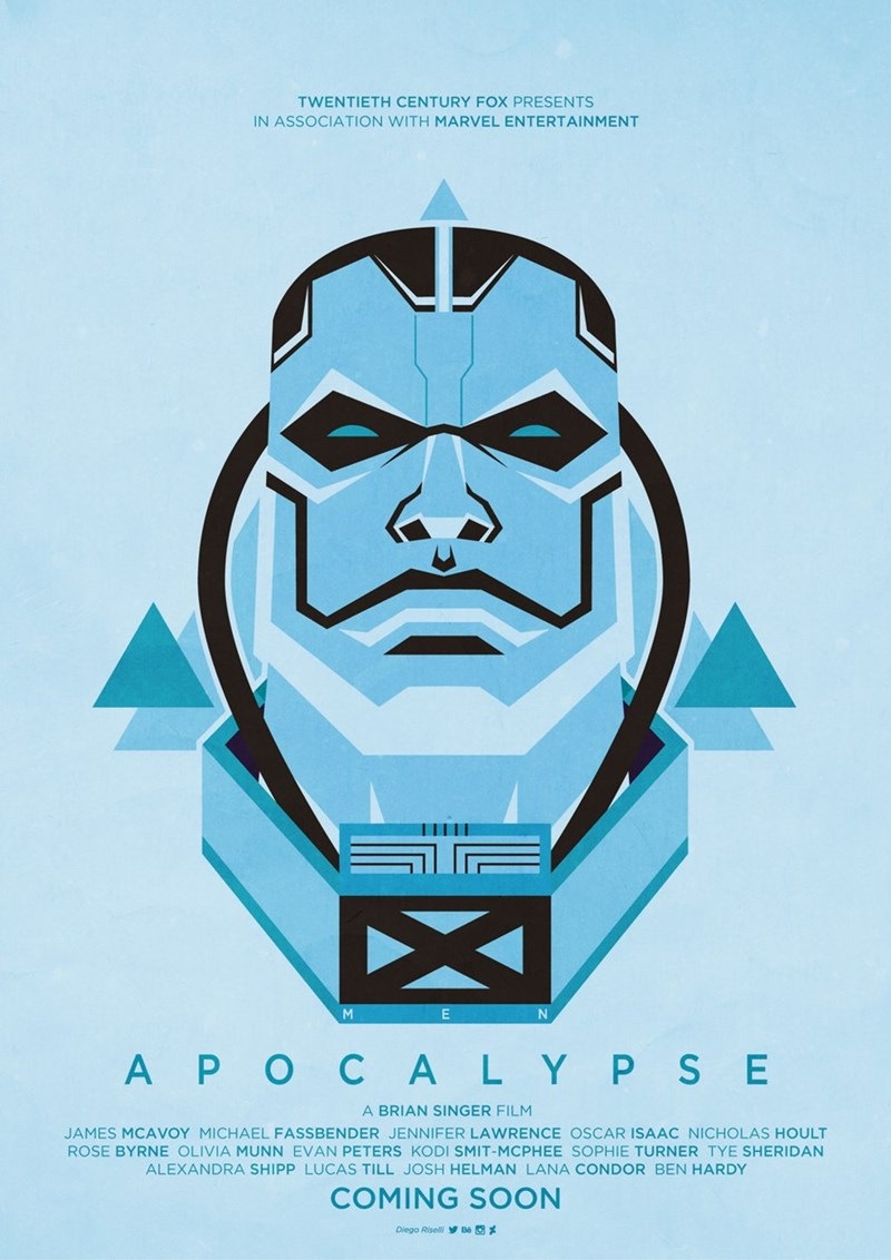 Fan Art x men apocalypse - 8596450560