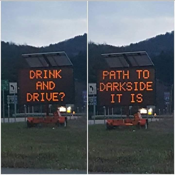 scifi star wars drunk driving