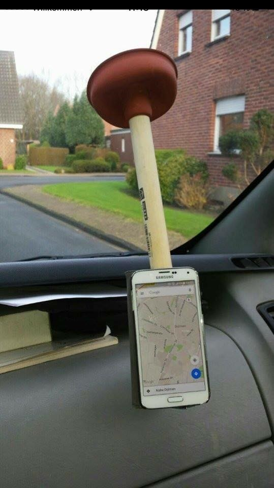 puns plunger mobile phone win there I fixed it iphone - 8596665344