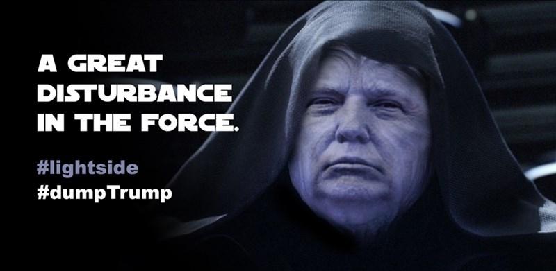 star wars donald trump politics - 8596747264