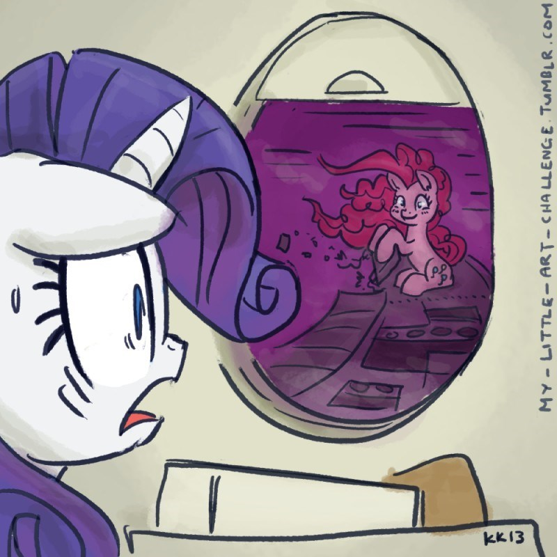pinkie pie rarity twilight zone nightmare at 20000 feet - 8596881920