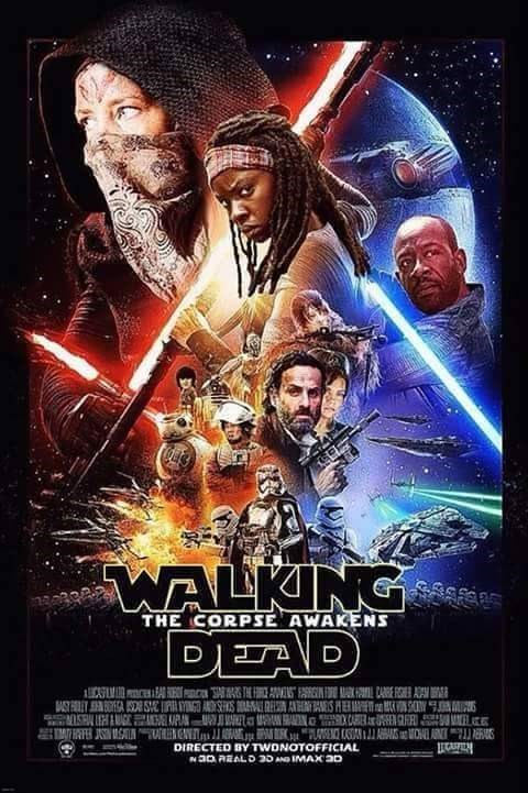 star wars walking dead crossover