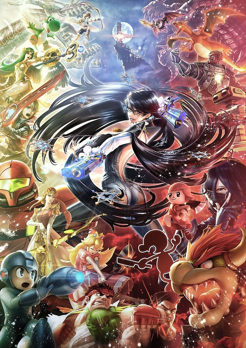 art bayonetta super smash bros - 8596892672