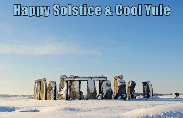 Happy Solstice & Cool Yule