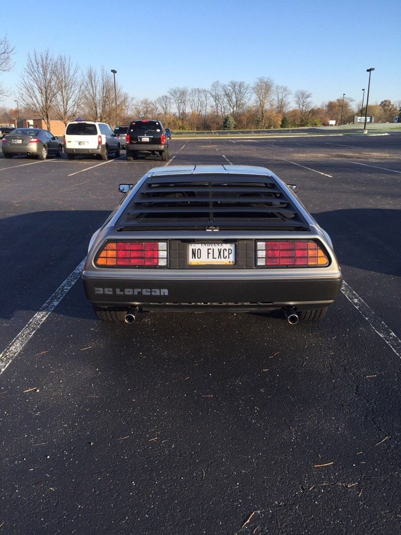 no flux capacitor license plate