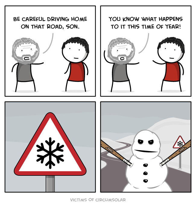 snow winter web comics