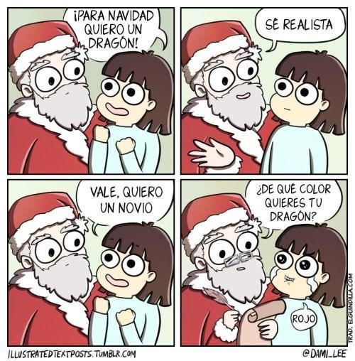 novio de navidad