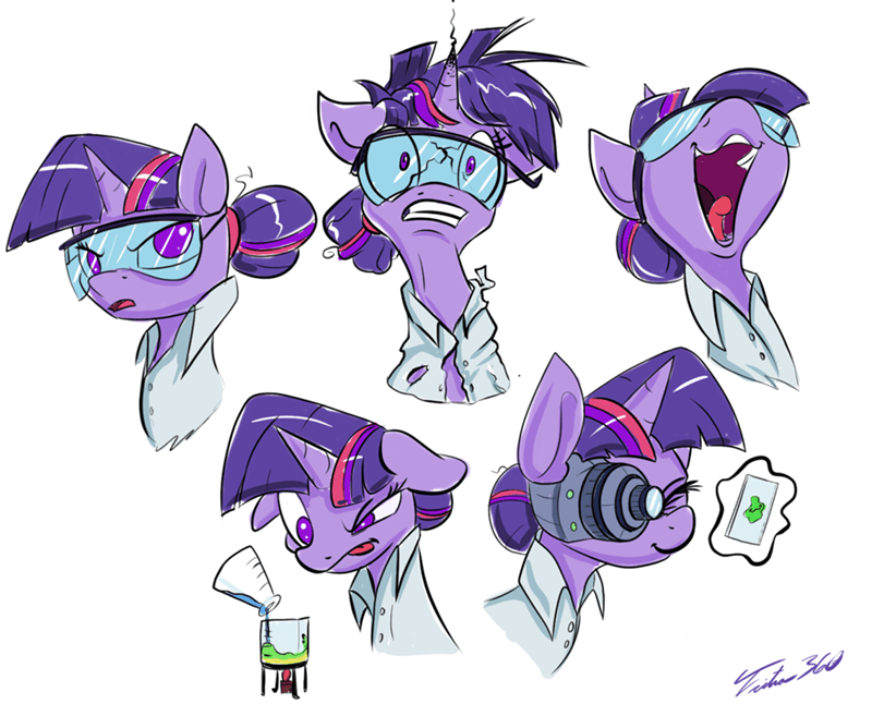 twilight sparkle science - 8597518336
