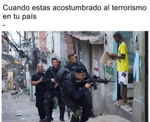terrorismo en tu pais