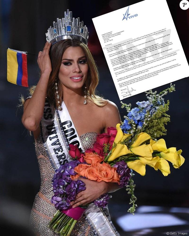 1 millón de dólares a Miss Colombia por hacer video porno