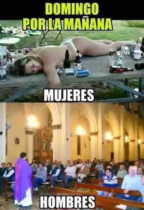 domingo hombres