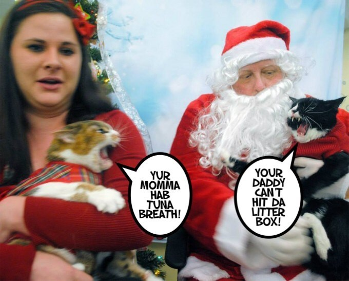 Why Santa Claws won't be coming this year.
