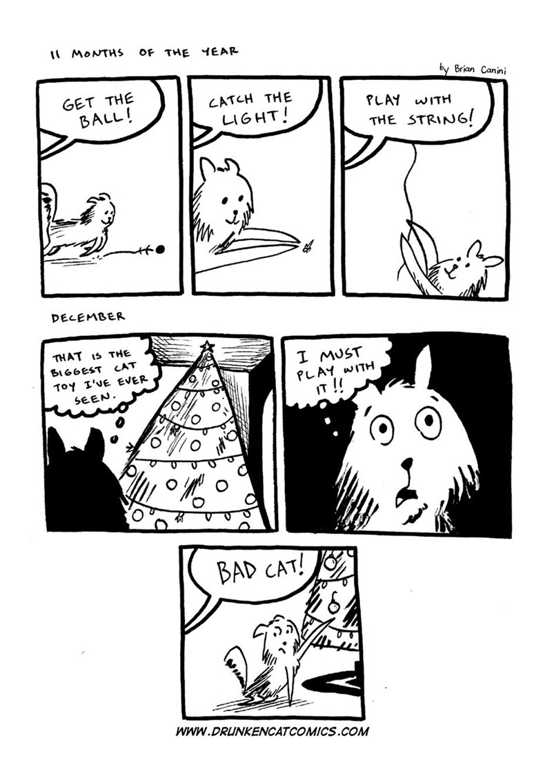 christmas Cats web comics - 8597954816
