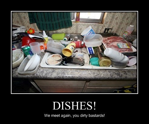 DISHES!