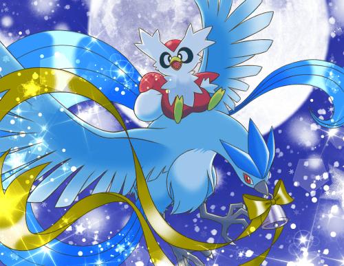 pokemon fan art christmas