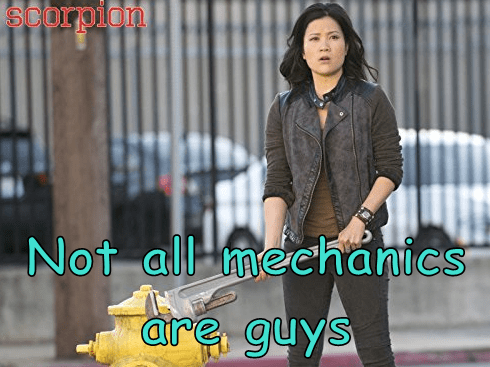 Not all mechanics are guys