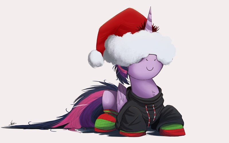 christmas twilight sparkle silly pony - 8598262528