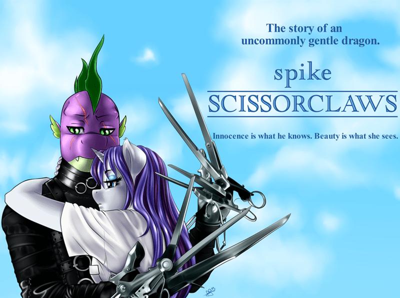 spike rarity Edward Scissorhands - 8598380288