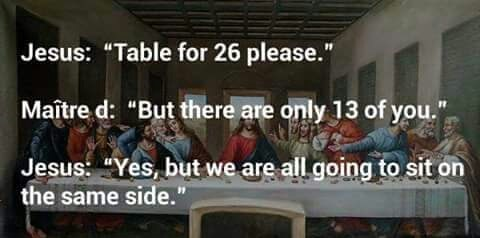 jesus table for 26