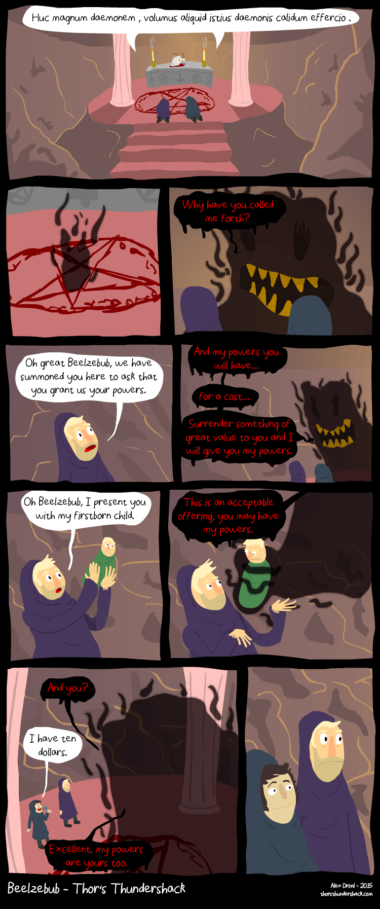 Babies demons web comics - 8598496512