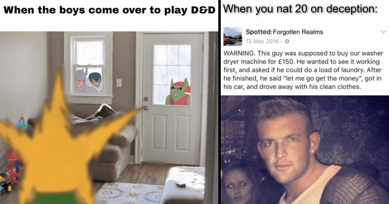 Funny memes about dungeons and dragons, dungeons and dragons memes.