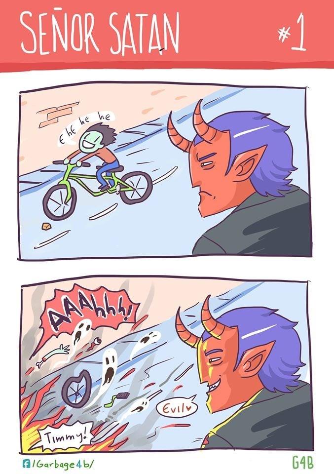 satan web comics