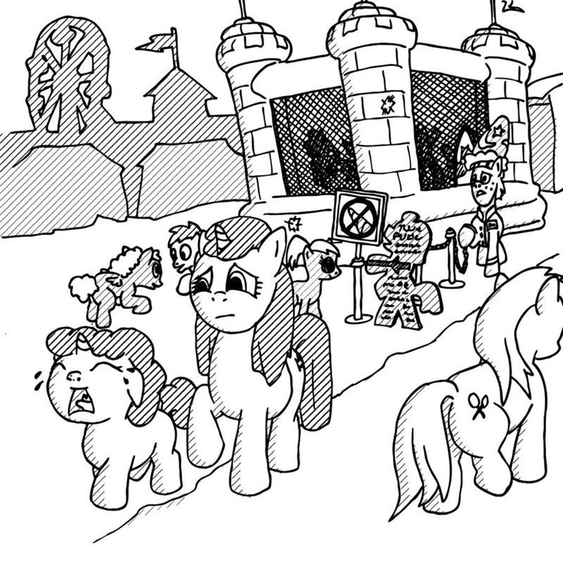 racism unicorns - 8598845440
