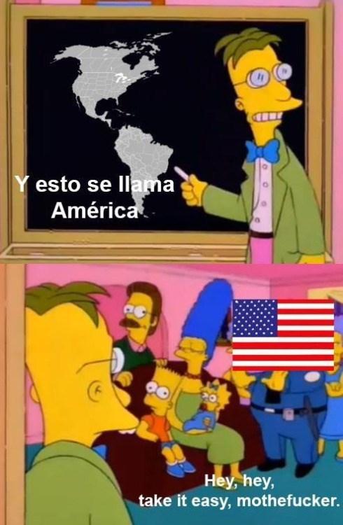 esto se llama america