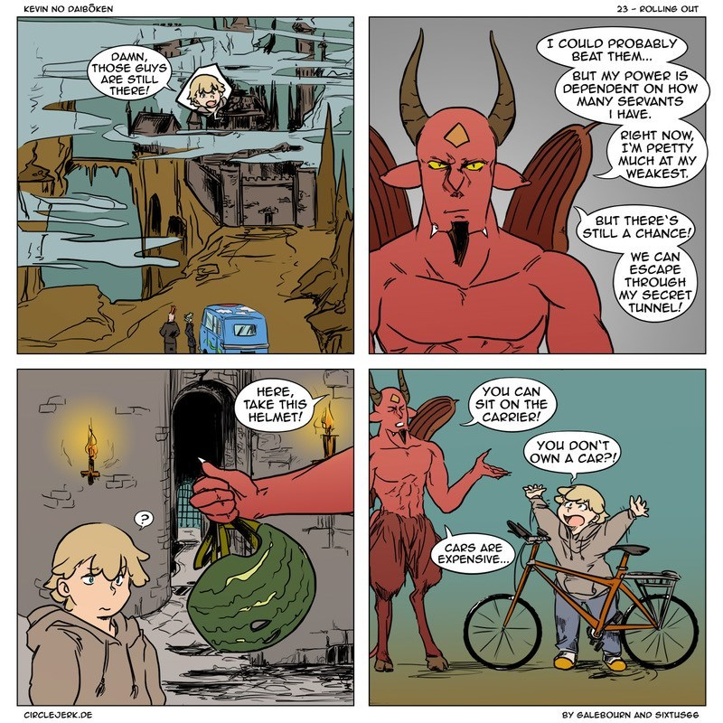 demon bike web comics
