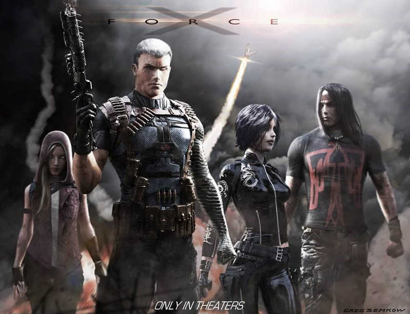 x-force concept art may reveal team lineup