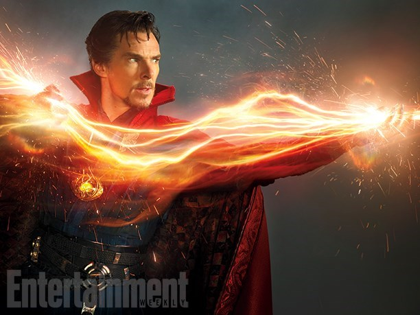 marvel movies doctor strange benedict cumberbatch photo reveal