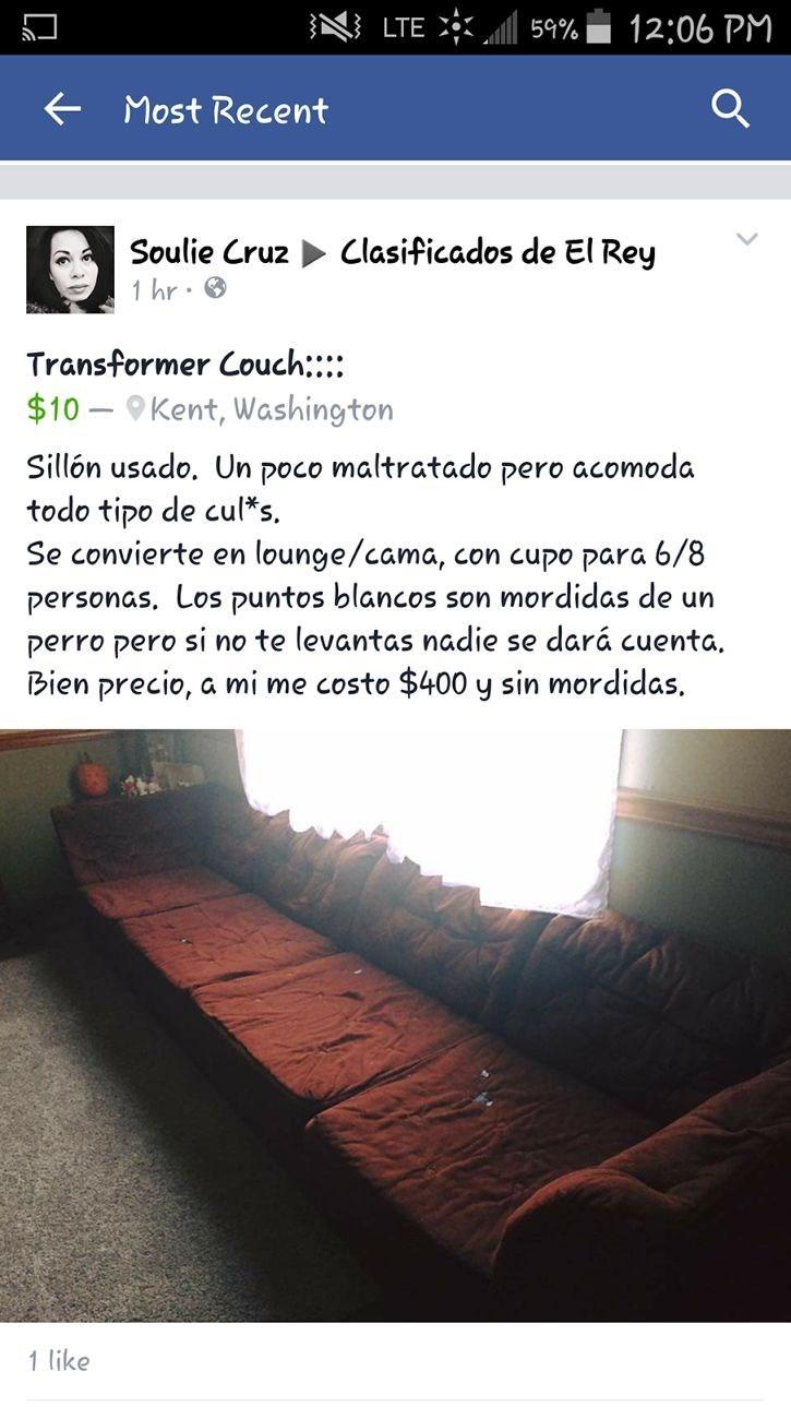 oferta de sofa