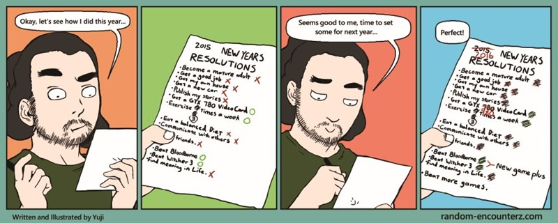 resolutions new years web comics - 8599356416