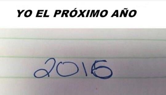 el proximo ano