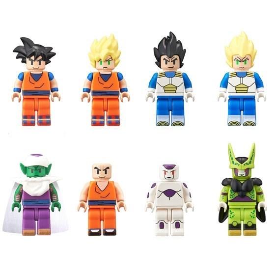 dbz lego minifigs