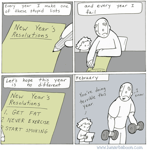 web comics new years reverse psychology