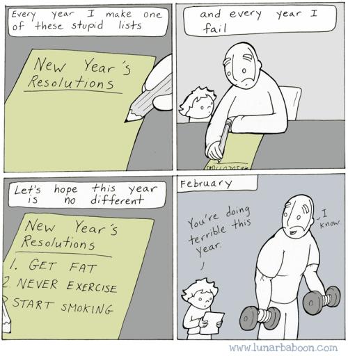 web comics new years reverse psychology