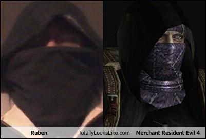 Ruben Totally Looks Like Merchant Resident Evil 4