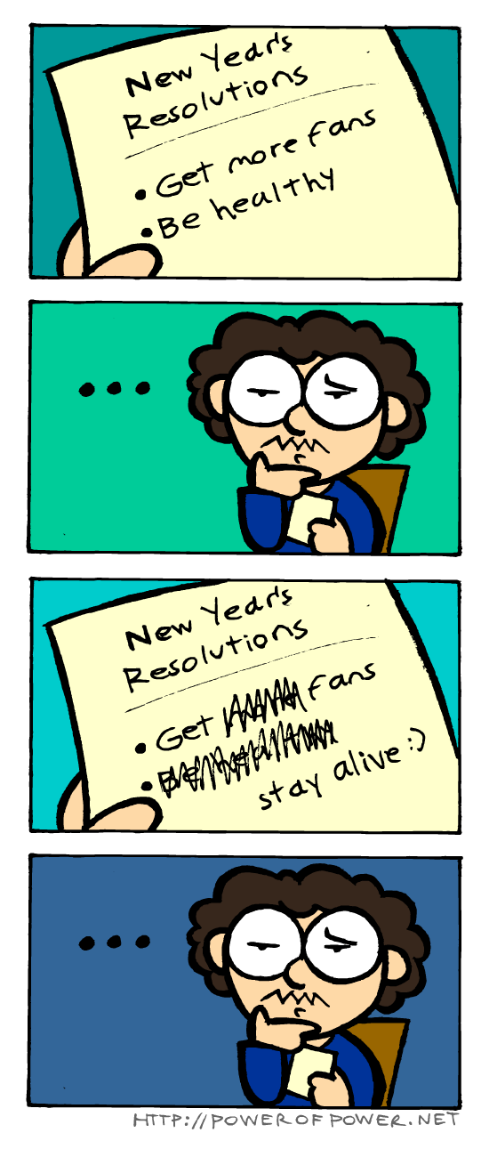 new years resolutions resolutions new years web comics - 8599846912