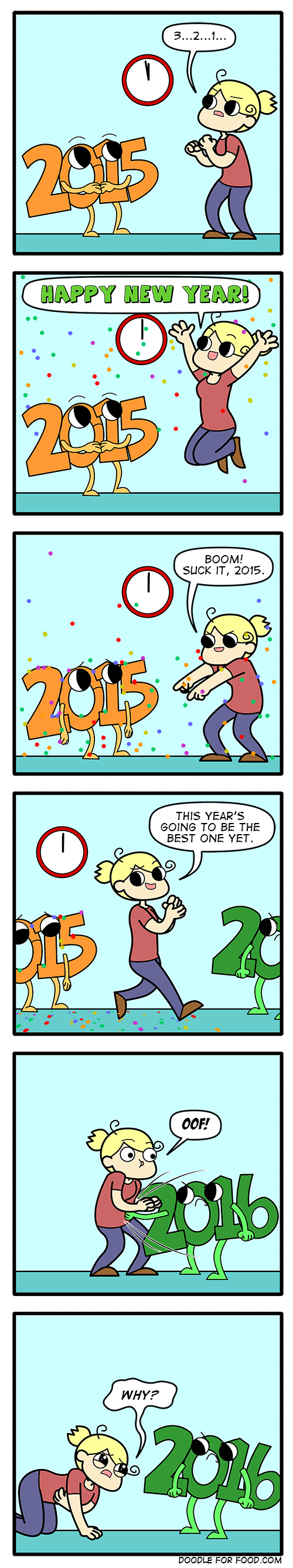 new years,web comics